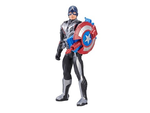 Avengers Endgame Titan Hero Power FX Captan America - E3301