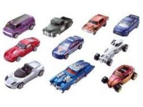 Hot Wheels Araba Seti 10'lu Paket - 54886
