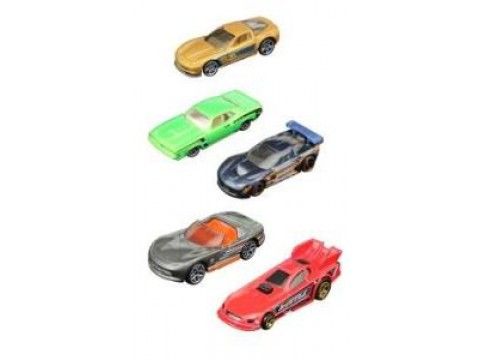 Hot Wheels Beşli Araba Seti - 1806