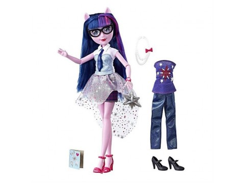 My Little Pony Equestria Girls Moda Seti Twilight Sparkle - E1931-E2745
